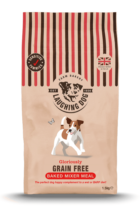 Laughing Dog Glorious Grain Free Mixer Meal Dog Food - 7.5kg