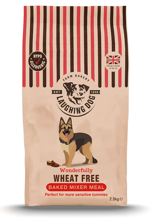 Laughing Dog Wheat Free Biscuit Mixer Meal Dry Dog Food - 2.5 kg