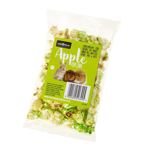 Little Friends Popcorn Treat for Small Animals (Assorted flavours) - 18g