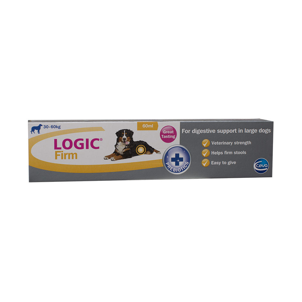 Logic Firm For Large Dogs - 60ml