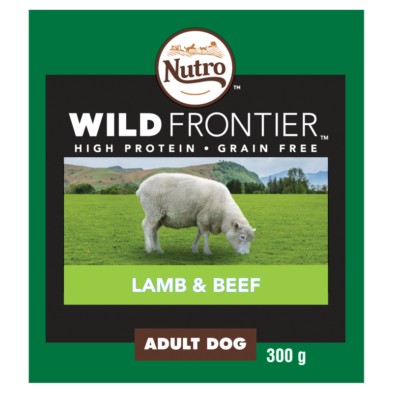 Nutro Ancestral Lamb & Beef in Loaf Wet Dog Food Tray - 20 x 300g