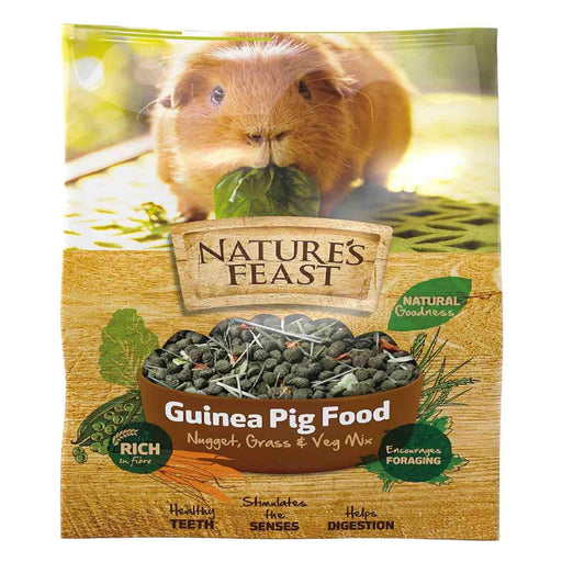 Natures Feast Guinea Pig Nuggets - 1.5kg