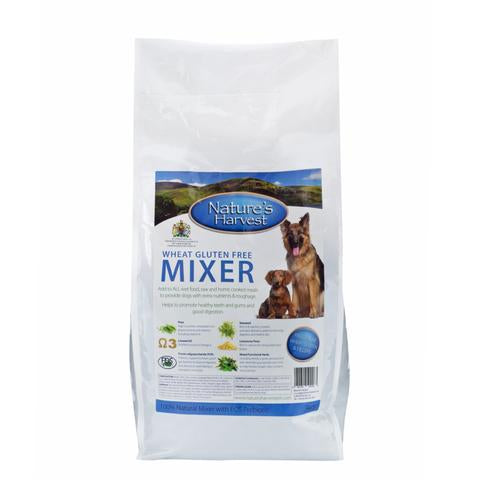 Nature's Harvest Wheat and Gluten Free Mixer for Dogs - 10kg