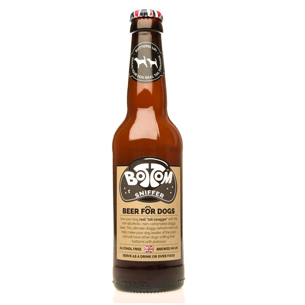 Woof & Brew Bottom Sniffer Dog Beer 330ml