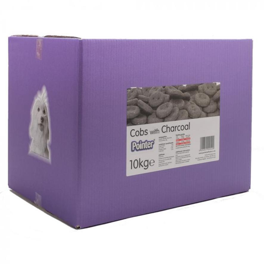 Pointer Charcoal Cobs Dog Treats 10kg