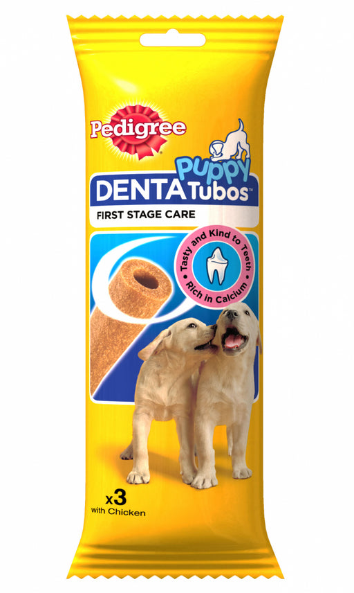 Pedigree Denta Tubos Puppy Chews - 3 Sticks