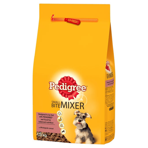 Pedigree Dry Small Bite Dog Mixer - 1.5kg