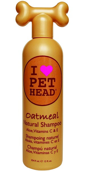 Pet Head Oatmeal Sensitive Skin Dog Shampoo 354ml