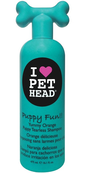 Pet Head Puppy Fun Tearless Shampoo 475ml