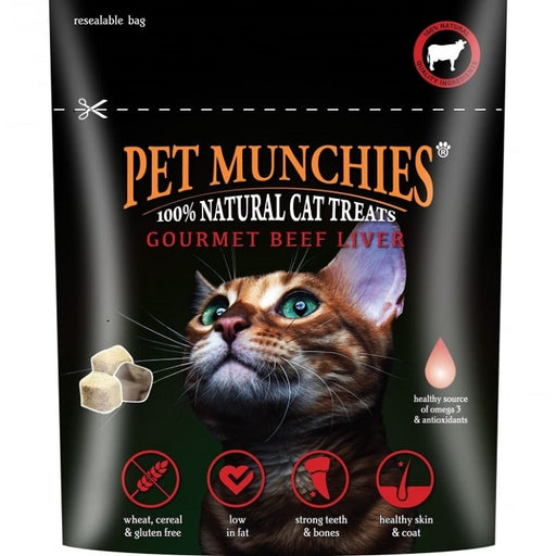 Pet Munchies Gourmet Beef Liver Treats For Cats - 10g