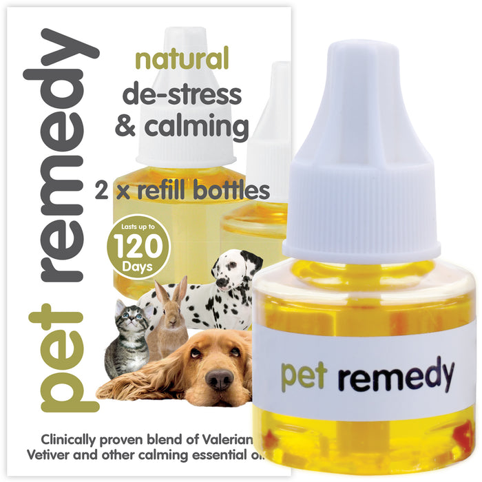 Pet Remedy Calming Diffuser Refill 2 Pack - 40ml