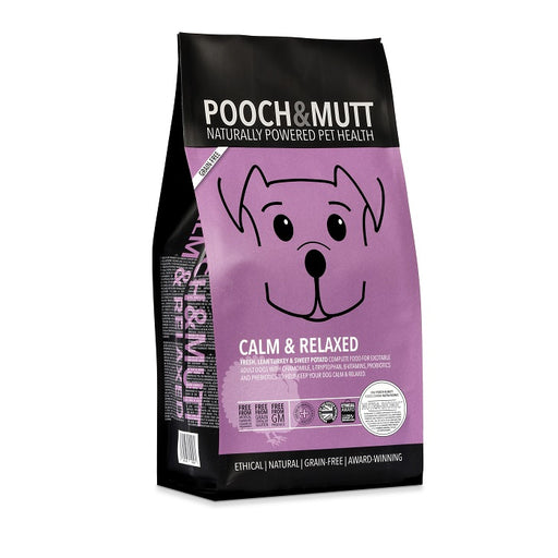 Pooch & Mutt Calm + Relaxed Grain-Free Dry Dog Food 10kg