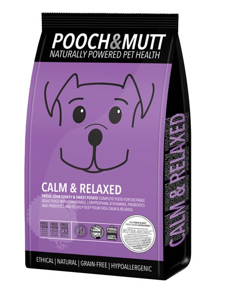 Pooch & Mutt Calm + Relaxed Grain-Free Dry Dog Food 2kg