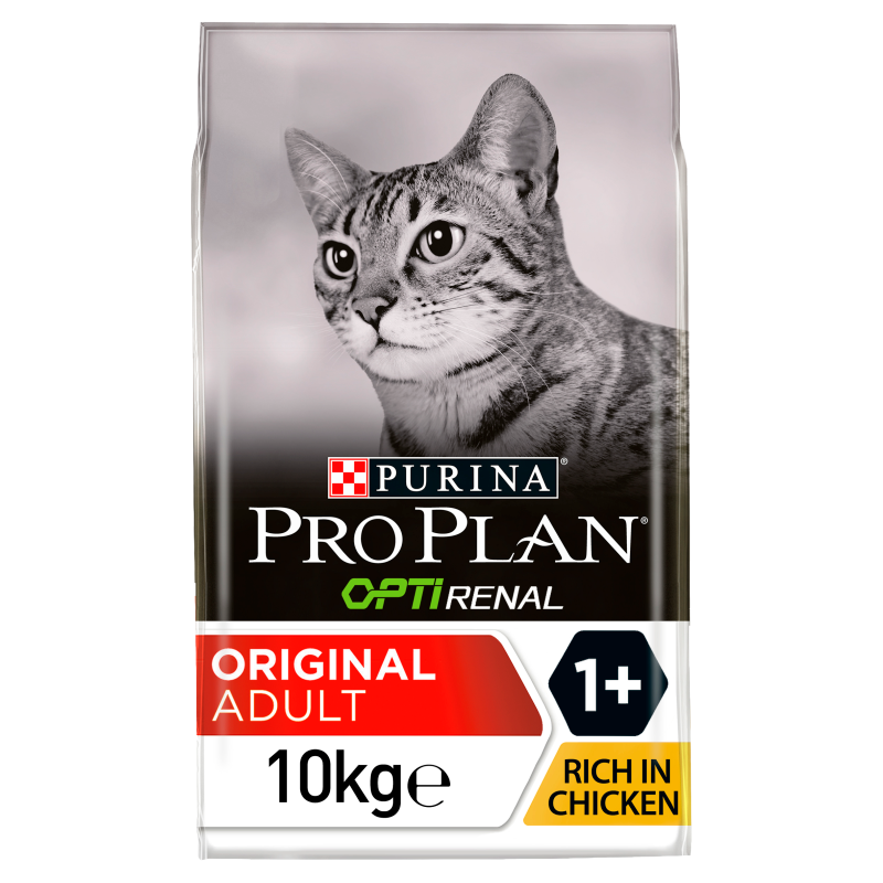 PRO PLAN Original Adult Dry Cat Food with OPTIRENAL Chicken 10kg