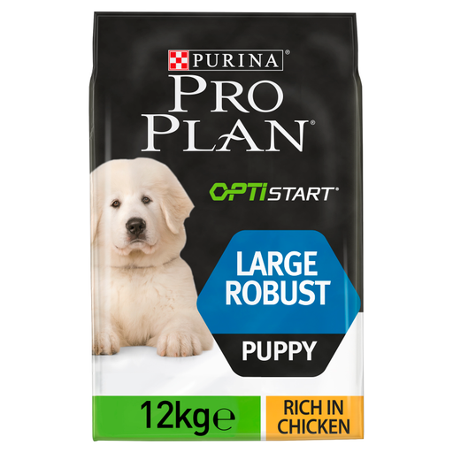 Pro Plan Large Robust Chicken Puppy Dry Dog Food 12kg 1