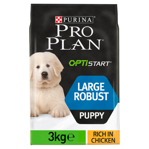 Pro Plan Large Robust Chicken Puppy Dry Dog Food - 3kg