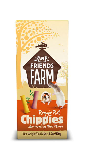 Reggie Crunch Chik 'n' Chip Small Animal Treats 120g