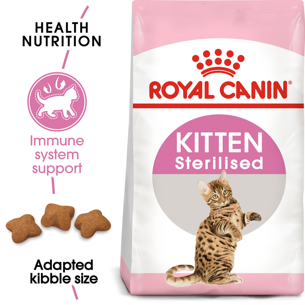 Royal Canin Kitten Sterilised Dry Cat Food - 3.5kg