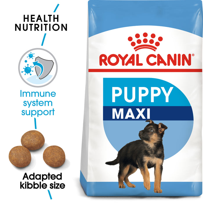Royal Canin Maxi Puppy Dry Dog Food - 4kg
