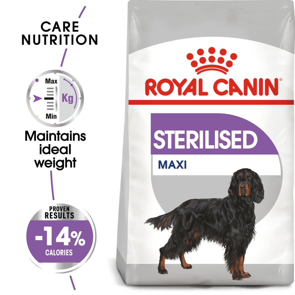 Royal Canin Maxi Sterilised Care Adult Dry Dog Food - 3kg