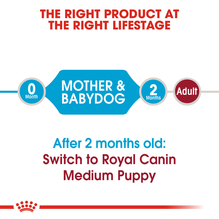 Royal Canin Medium Starter Mother And Baby Dry Adult & Puppy Dog Food - 12kg