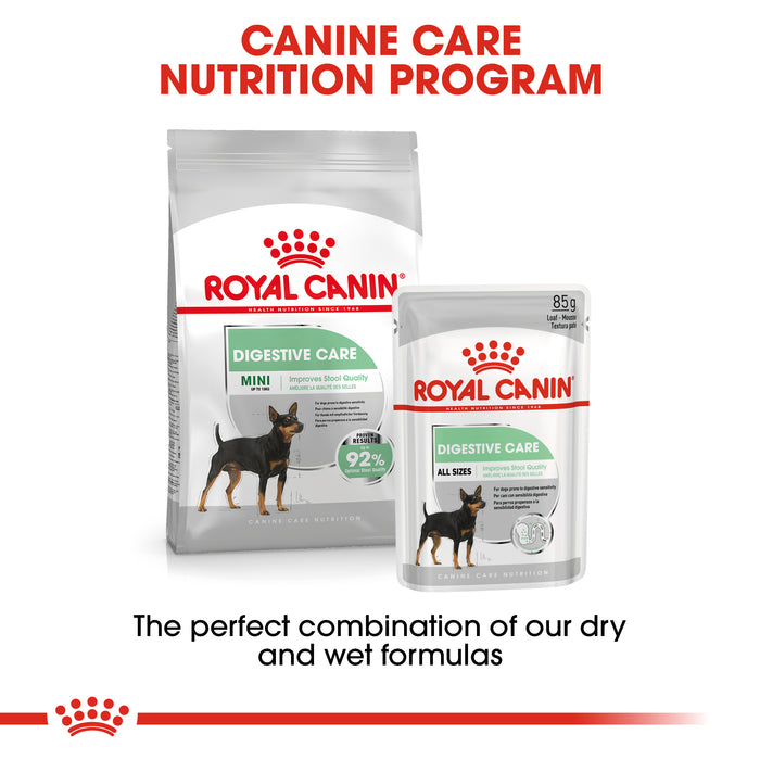 Royal Canin Mini Adult Digestive Care Dry Adult Dog Food - 8kg