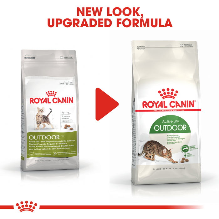 Royal Canin Outdoor Dry Adult Cat Food - 4kg