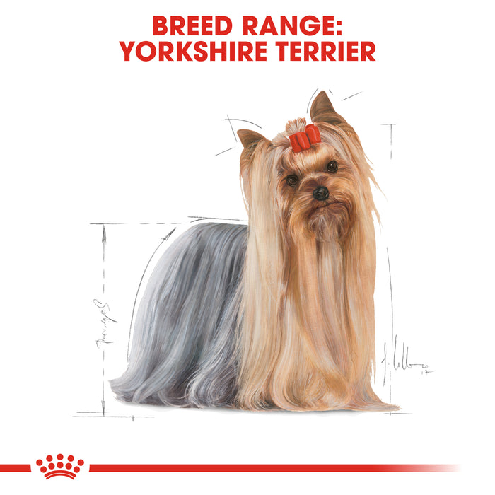 Royal Canin Yorkshire Terrier Adult Dry Dog Food - 1.5kg