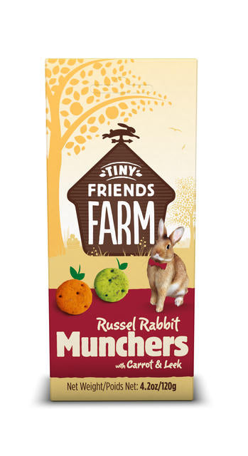 Russel Crunch Carrot & Leek Small Animal Treats 80g