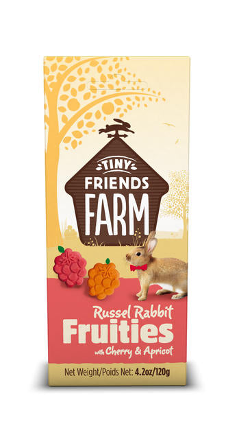 Russel Crunch Cherry & Apricot Small Animal Treats 80g