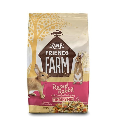 Tiny Friends Farm Russel Rabbi Timothy Mix Rabbit Food-2.5kg