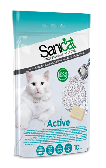 Sanicat Active Cat Litter 10 Litre 1