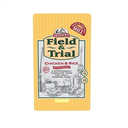 Skinner's Field & Trial Chicken & Rice Hypoallergenic Dry Dog Food - 2.5kg