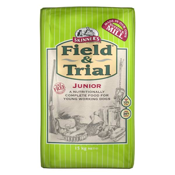 Skinner's Field & Trial Junior Dry Dog Food - 15kg