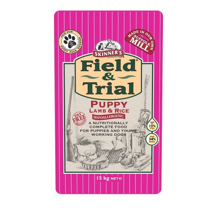 Skinners Field & Trial Lamb Rice Puppy Dry Dog Food - 15kg