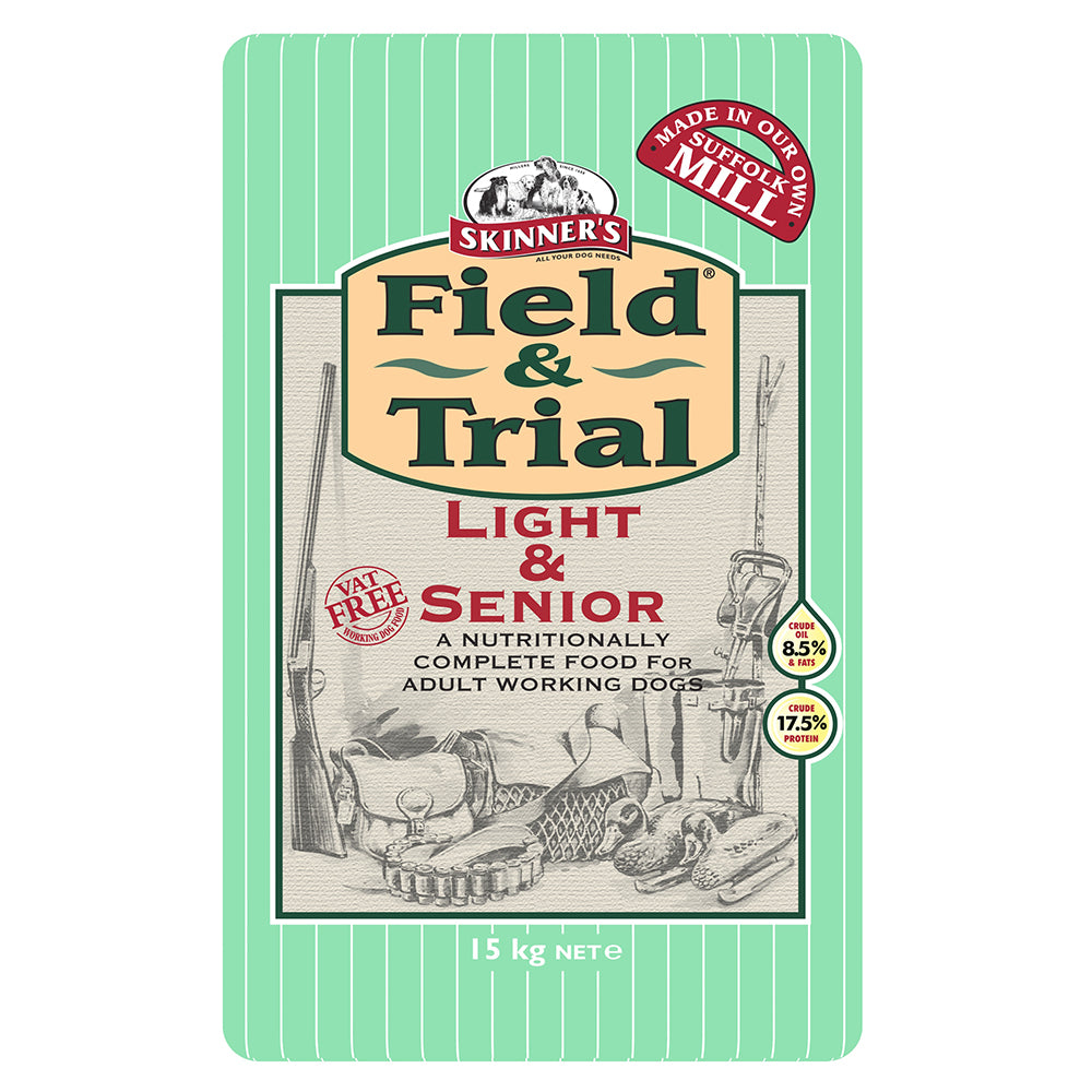 Skinners Field & Trial Light/Senior Dry Dog Food - 15kg