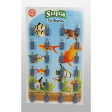 Supa Air Stones Carded x 24