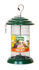 "Supa Easy Fill Plastic Peanut Feeder Green 20cm (8"")"