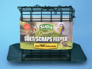 Supa Premium Suet Block / Scrap Feeder With Tray