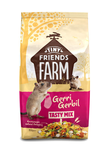 Supreme Tiny Friends Geri Gerbil Tasty Mix Gerbil Food - 850g