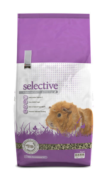 Supreme Science Selective Guinea Pig Food - 3kg