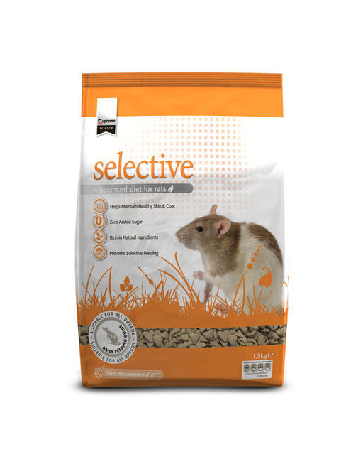 Supreme Science Selective Rat Food - 1.5kg
