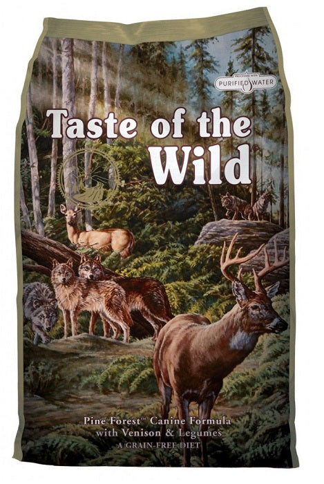 Taste of the Wild Pine Forest with Venison and Legumes Dog Food - 12.2kg