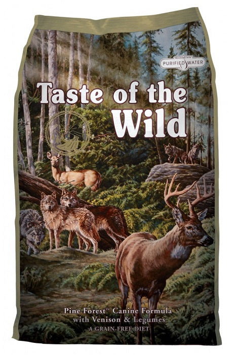 Taste of the Wild Pine Forest with Venison and Legumes Dog Food - 2kg