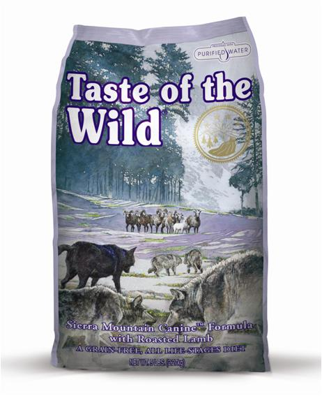 Taste of the Wild Sierra Mountain Dry Dog Food - 2kg