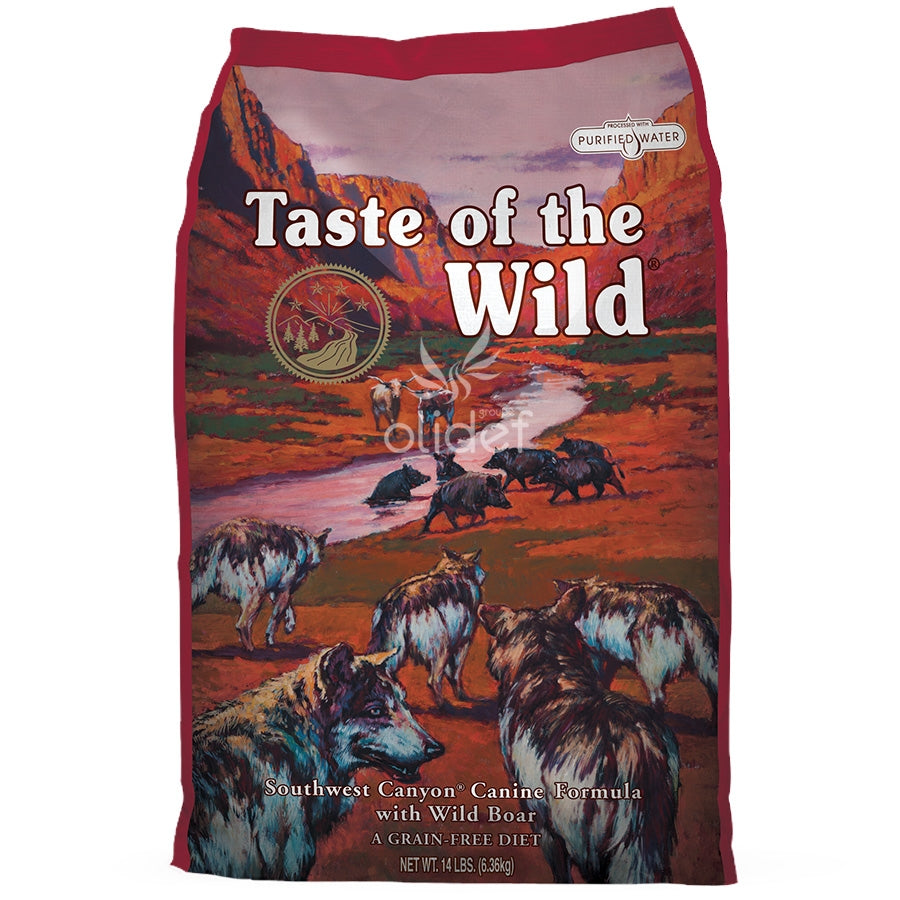 Taste of the Wild Southwest Canyon with Wild Boar Dry Dog Food - 12.2kg