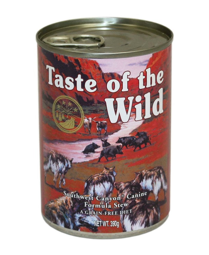 Taste of the Wild Southwest Canyon Stew Dog Cans - 12 x 390g
