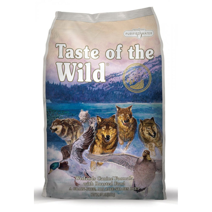 Taste Of The Wild Wetlands Fowl Dry Dog Food - 12.2kg