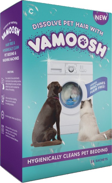Vamoosh Pet Hair Dissolver - 3 x 100g
