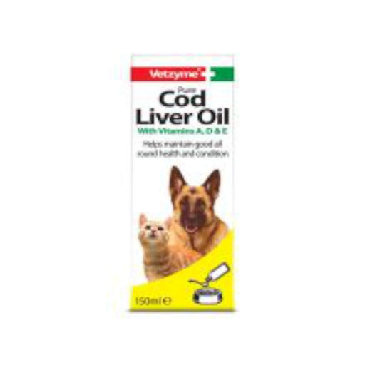 Vetzyme Cod Liver Oil - 150ml